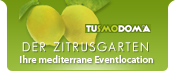 Der Zitrusgarten - Ihre mediterrane Eventlocation